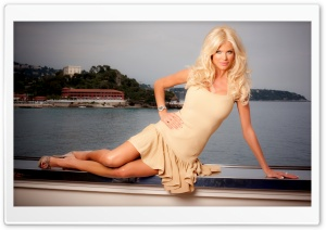 Victoria Silvstedt HD Wide Wallpaper for Widescreen