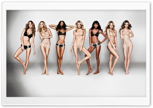 Victoria's Secret Models HD Wide Wallpaper for Widescreen