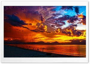 Vietnam Sunset Beach HD Wide Wallpaper for Widescreen