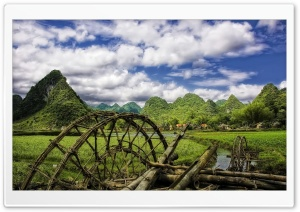 Vietnam Village HD Wide Wallpaper for Widescreen