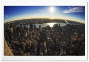 View from Empire State HD Wide Wallpaper for Widescreen