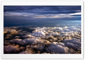 View From Plane HD Wide Wallpaper for Widescreen