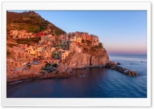 View of Manarola HD Wide Wallpaper for 4K UHD Widescreen desktop & smartphone