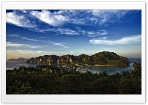 View Of Paradise HD Wide Wallpaper for Widescreen