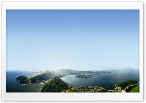 View Of Rio De Janeiro, Brazil HD Wide Wallpaper for 4K UHD Widescreen desktop & smartphone