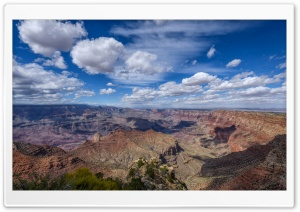 View of the South Rim of the Grand Canyon from Navajo Point, Arizona Ultra HD Wallpaper for 4K UHD Widescreen desktop, tablet & smartphone