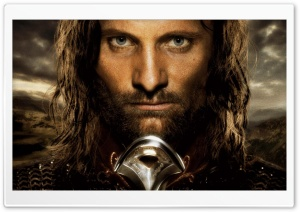 Viggo Mortensen As Aragorn HD Wide Wallpaper for Widescreen