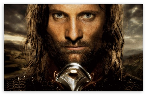 Viggo Mortensen As Aragorn HD wallpaper for Standard 4:3 5:4 Fullscreen UXGA XGA SVGA QSXGA SXGA ; Wide 16:10 5:3 Widescreen WHXGA WQXGA WUXGA WXGA WGA ; HD 16:9 High Definition WQHD QWXGA 1080p 900p 720p QHD nHD ; Other 3:2 DVGA HVGA HQVGA devices ( Apple PowerBook G4 iPhone 4 3G 3GS iPod Touch ) ; Mobile VGA WVGA iPhone iPad PSP Phone - VGA QVGA Smartphone ( PocketPC GPS iPod Zune BlackBerry HTC Samsung LG Nokia Eten Asus ) WVGA WQVGA Smartphone ( HTC Samsung Sony Ericsson LG Vertu MIO ) HVGA Smartphone ( Apple iPhone iPod BlackBerry HTC Samsung Nokia ) Sony PSP Zune HD Zen ; Tablet 2 Android ;