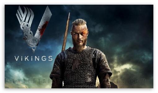 Download Vikings Ragnar HD Wallpaper