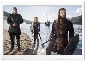 Vikings TV Series HD Wide Wallpaper for 4K UHD Widescreen desktop & smartphone