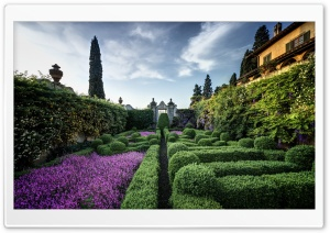 Villa Capponi Italy HD Wide Wallpaper for 4K UHD Widescreen desktop & smartphone