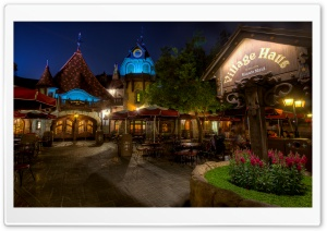 Village Haus HD Wide Wallpaper for Widescreen