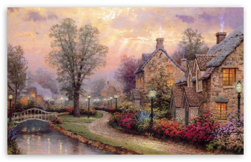 Village Painting by Thomas Kinkade ❤ 4K UHD Wallpaper for Wide 16:10 5:3 Widescreen WHXGA WQXGA WUXGA WXGA WGA ; 4K UHD 16:9 Ultra High Definition 2160p 1440p 1080p 900p 720p ; Standard 4:3 5:4 3:2 Fullscreen UXGA XGA SVGA QSXGA SXGA DVGA HVGA HQVGA ( Apple PowerBook G4 iPhone 4 3G 3GS iPod Touch ) ; Tablet 1:1 ; iPad 1/2/Mini ; Mobile 4:3 5:3 3:2 16:9 5:4 - UXGA XGA SVGA WGA DVGA HVGA HQVGA ( Apple PowerBook G4 iPhone 4 3G 3GS iPod Touch ) 2160p 1440p 1080p 900p 720p QSXGA SXGA ; Dual 16:10 5:3 16:9 4:3 5:4 WHXGA WQXGA WUXGA WXGA WGA 2160p 1440p 1080p 900p 720p UXGA XGA SVGA QSXGA SXGA ;