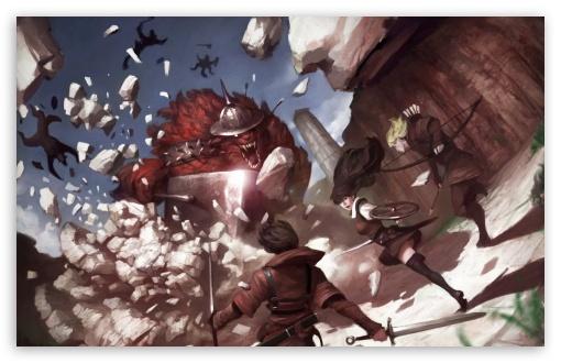 Vindictus video game art 4k hd desktop wallpaper for download vindictus video game art hd wallpaper voltagebd Image collections