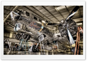 Vintage Airplane HD Wide Wallpaper for Widescreen