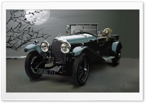 Vintage Car HD Wide Wallpaper for Widescreen