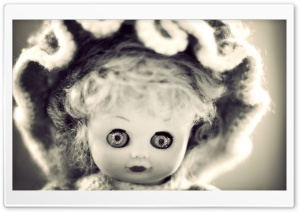 Vintage Doll HD Wide Wallpaper for Widescreen