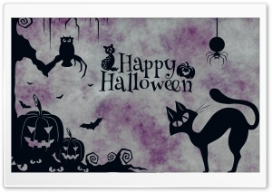 Vintage Halloween Background Ultra HD Wallpaper for 4K UHD Widescreen desktop, tablet & smartphone