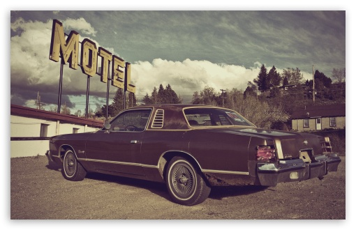 Vintage Motel Ultra HD Desktop