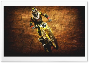Vintage Motocross Photography HD Wide Wallpaper for Widescreen