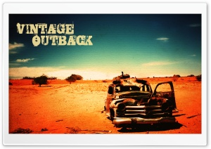 Vintage Outback HD Wide Wallpaper for 4K UHD Widescreen desktop & smartphone
