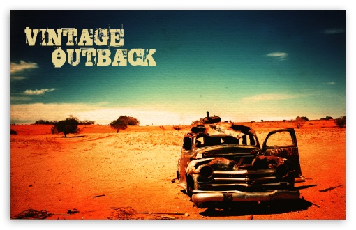 Vintage Outback HD wallpaper for Wide 16:10 5:3 Widescreen WHXGA WQXGA WUXGA WXGA WGA ; Standard 4:3 3:2 Fullscreen UXGA XGA SVGA DVGA HVGA HQVGA devices ( Apple PowerBook G4 iPhone 4 3G 3GS iPod Touch ) ; iPad 1/2/Mini ; Mobile 4:3 5:3 3:2 - UXGA XGA SVGA WGA DVGA HVGA HQVGA devices ( Apple PowerBook G4 iPhone 4 3G 3GS iPod Touch ) ;