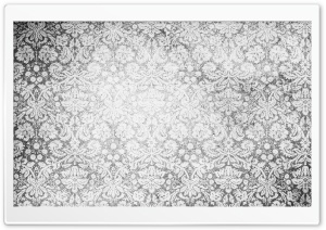 Vintage Pattern Black And White HD Wide Wallpaper for Widescreen