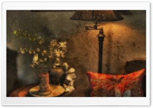 Vintage Room HD Wide Wallpaper for Widescreen
