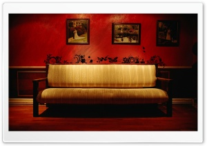 Vintage Sofa HD Wide Wallpaper for Widescreen