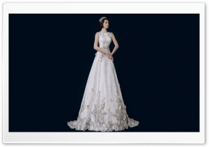 Vintage Wedding Dress, Bride HD Wide Wallpaper for 4K UHD Widescreen desktop & smartphone