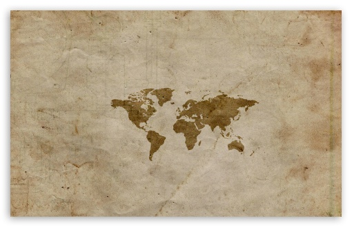 Vintage World Map Ultra Hd Desktop Background Wallpaper For 4k Uhd