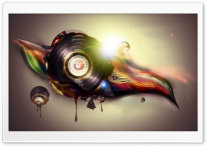 Vinyl Art HD Wide Wallpaper for Widescreen