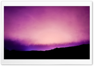 Violet Dawn HD Wide Wallpaper for Widescreen