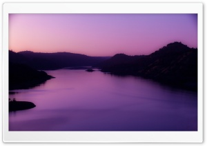 Violet Morning Light HD Wide Wallpaper for Widescreen