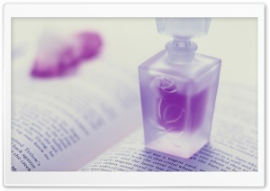 Violet Perfume HD Wide Wallpaper for Widescreen