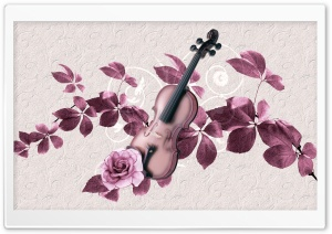 Violin Art HD Wide Wallpaper for Widescreen