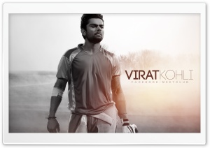 Virat Kohli HD Wide Wallpaper for Widescreen