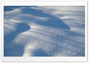 Virgin Snow HD Wide Wallpaper for Widescreen