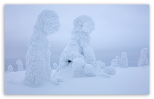 Download Visit Finnish Lapland HD Wallpaper