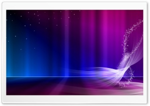 Vista Blue And Purple Aurora HD Wide Wallpaper for Widescreen