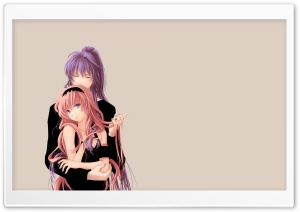 Vocaloid: Gakupo x Luka HD Wide Wallpaper for Widescreen