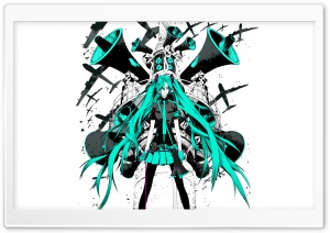 Vocaloid Hatsune Miku HD Wide Wallpaper for Widescreen