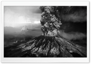 Volcanic Eruption HD Wide Wallpaper for Widescreen