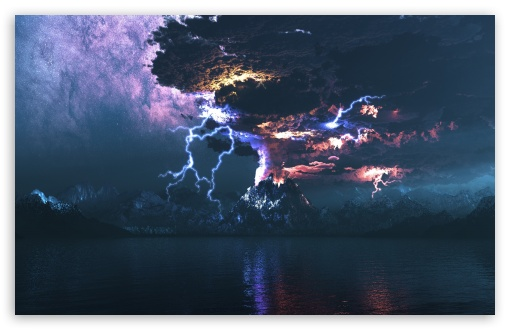 Volcano Eruption Lightning HD wallpaper for Standard 4:3 5:4 Fullscreen UXGA XGA SVGA QSXGA SXGA ; Wide 16:10 5:3 Widescreen WHXGA WQXGA WUXGA WXGA WGA ; HD 16:9 High Definition WQHD QWXGA 1080p 900p 720p QHD nHD ; Other 3:2 DVGA HVGA HQVGA devices ( Apple PowerBook G4 iPhone 4 3G 3GS iPod Touch ) ; Mobile VGA WVGA iPhone iPad PSP Phone - VGA QVGA Smartphone ( PocketPC GPS iPod Zune BlackBerry HTC Samsung LG Nokia Eten Asus ) WVGA WQVGA Smartphone ( HTC Samsung Sony Ericsson LG Vertu MIO ) HVGA Smartphone ( Apple iPhone iPod BlackBerry HTC Samsung Nokia ) Sony PSP Zune HD Zen ; Tablet 2 Android ;