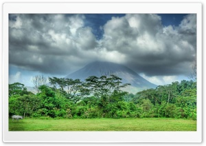 Volcano HDR HD Wide Wallpaper for Widescreen