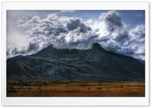 Volcano In Argentina HD Wide Wallpaper for Widescreen