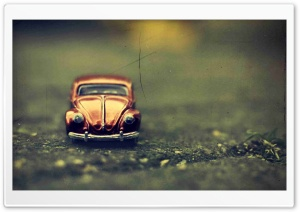 Volkswagen Beetle Toy HD Wide Wallpaper for Widescreen