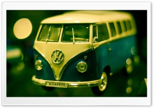 Volkswagen Bus Toy HD Wide Wallpaper for Widescreen