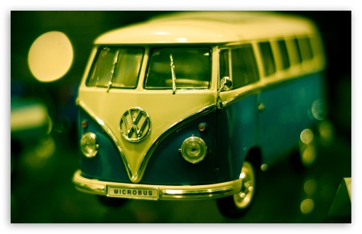 Volkswagen Bus Toy HD wallpaper for Standard 4:3 5:4 Fullscreen UXGA ...