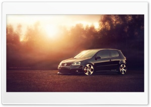 Volkswagen Golf GTI MKV HD Wide Wallpaper for Widescreen